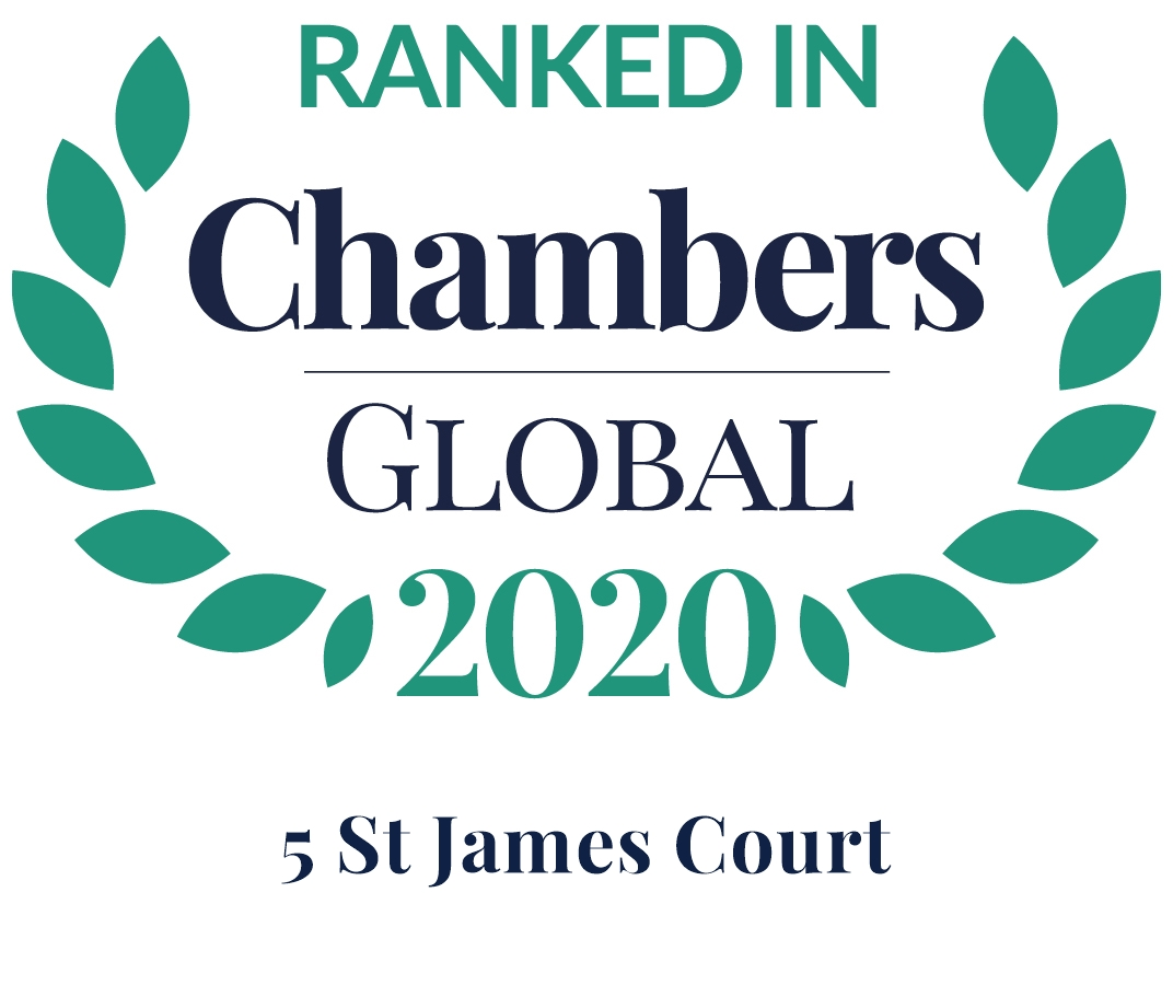 2020 - RANKED IN CHAMBERS AND PARTNERS
