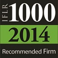 2014 - RECOMMENDED FIRM IFLR 1000